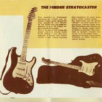 Op de de cover van de brochure stond een Stratocaster afgebeeld, en Cliff en The Shads gingen er vanuit dat dit de gitaar moest zijn,waar James Burton op speelde Er werd per omgaand een besteld bij Fender in Amerika