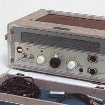 """Meazzi Echomatic 1 1960 - 1961 . Voor het eerst gebruikt tijdens de opname van """"Apache"""" in juni 1960,  Laatst gebruikt bij """"Blue Star"""" in februari 1961"""