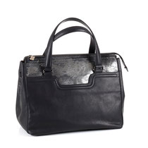 B FLO Citybag black metallic