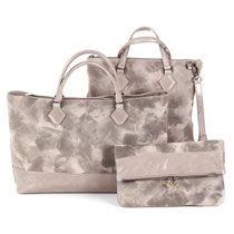 B FLO Bags color taupe
