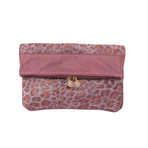 B FLO Clutch animal print
