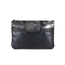 B FLO Clutch black metallic