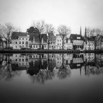 Lübeck - Pinhole Photography | Harman Titan 4x5 pinhole camera | Ilford FP4 Plus in Ilfosol 3