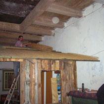 Bau der Saloon- Front 2006