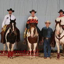 Patrick, Klaus und Gudi Team Penning Platz 3