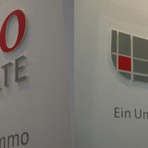 Fräsbuchstaben, 3D-Logo München