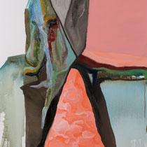 """""""22580"""", óleo y acrílico sobre lienzo, 97 x 73 cm"""