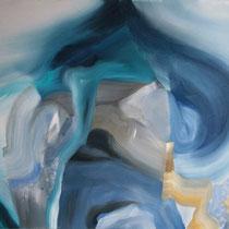 Prueba I, óleo sobre lienzo, 61 x 46 cm