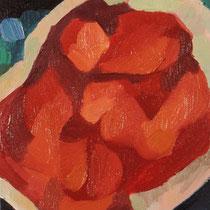 Sin título, óleo sobre lienzo, 18 x 14,5 cm, 2011.
