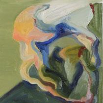 Sin título, óleo sobre tabla, 24 x 19 cm