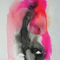 """""""Tinta 3"""", tinta sobre papel,  42 x 30 cm, 2011"""