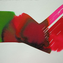 """""""A"""" tinta sobre papel, 20 x 27 cm"""