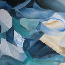 Prueba II, óleo sobre lienzo, 61 x 46 cm