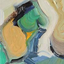 Sin título, óleo sobre lienzo, 23 x 15 cm