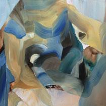 Prueba III, óleo sobre lienzo, 61 x 50 cm
