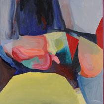 """""""12498"""", óleo y acrílico sobre lienzo, 73 x 97 cm"""