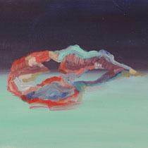Sin título, óleo sobre tabla, 22 x 27 cm