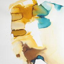 """""""Ink II"""", tinta sobre papel, 110 x 80 cm"""
