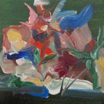 Sin título, óleo sobre lienzo, 20 x 20 cm