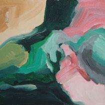 Sin título, óleo sobre lienzo, 15 x 23 cm