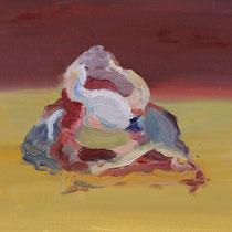 Sin título, óleo sobre tabla, 19 x 24 cm