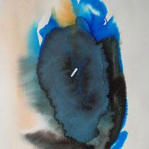 """""""Tinta 2"""", tinta sobre papel,  42 x 30 cm, 2011"""