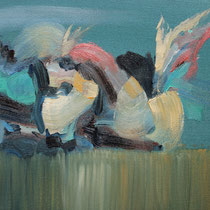 Sin título, óleo sobre lienzo, 19 x 24 cm
