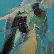 Sin título, óleo sobre lienzo, 18 x 14 cm