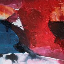 Sin título, técnica mixta sobre tabla, 50 x 122 cm, 2012.