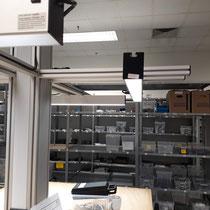 Anwendungsbeispiel der LED SAL 30W Systemleuchte