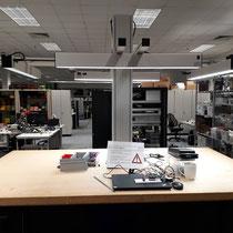 Anwendungsbeispiel der LED SAL BATZ Systemleuchte
