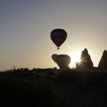 réveil au son des montgolfières !