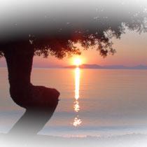 Lever du soleil 6h du mat.