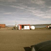 la station service de Reykjanes