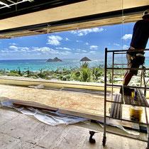 Oahu, Hawaii - Developer: Crema Builders, Honolulu. Architect: James McPeak, Honolulu. Interior Design: Cesar Giraldo Design, Los Angeles.