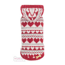 Lovely Hearts Pullover For Pets Only