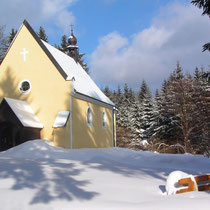 St Nikolaus im Winter