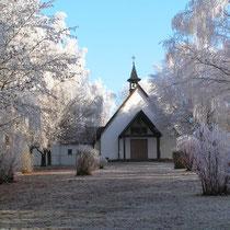 St-Anna-Kirche im Raureif (2. Preis)