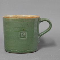 tazza grande h 8,5 ø 9,5  ml 330 colore verde celadon