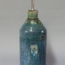 oliera 1/2 litro con beccuccio in acciaio