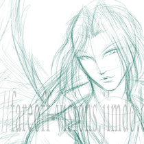 Sephiroth - the rough sketch