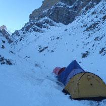 ツァラド coldest camp of Chaddar  ツァラ(早く歩け!)ド(ジャンクション)