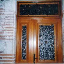 grille de porte d'entrée