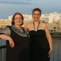 Mit meiner Übersetzerin Antonietta D´Oria