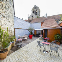 Terrasse, rêves d'eau à Bourg et Comin