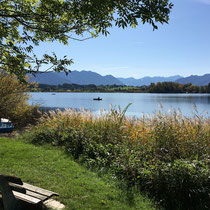 Blick vom Campingplatz