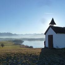Blick von der Kapelle in Leibersberg
