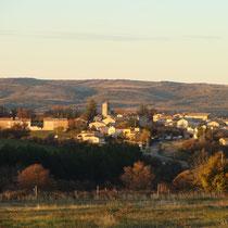 le village : Revest du Bion