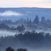 Revest du Bion dans le brouillard