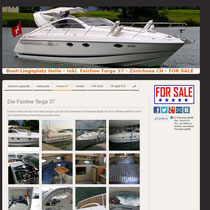 Fairline Motorboot